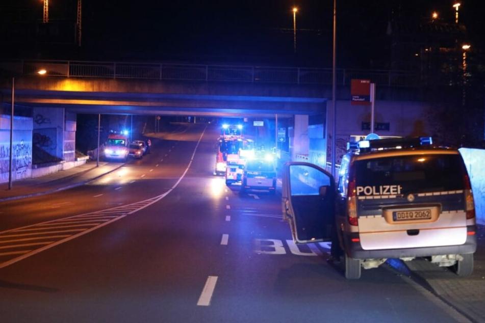 Fünf Menschen wurden bei dem Vorfall leicht verletzt.