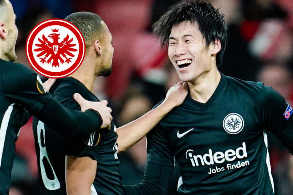Eintracht-Sensation! Kamada schießt Frankfurt zum Sieg beim FC Arsenal