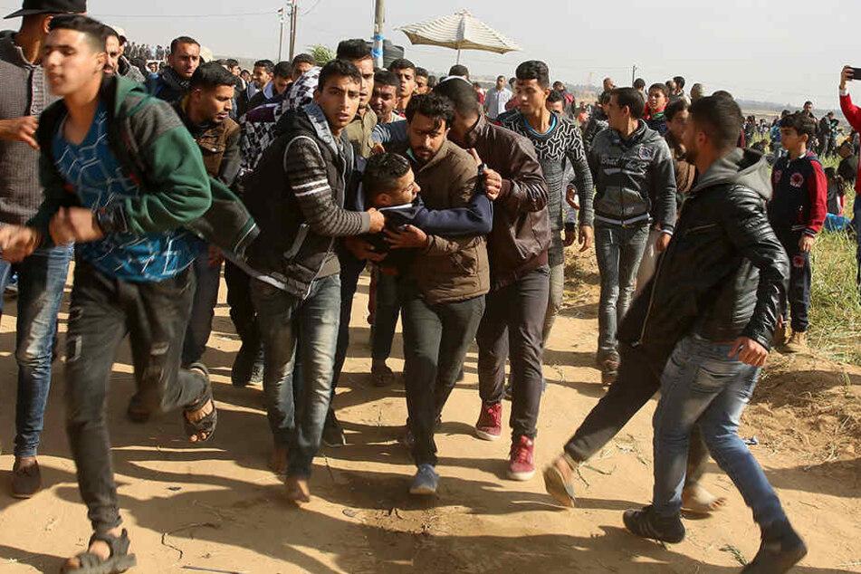 """""""Das war kein friedlicher Protest"""", äußerte ein israelischer Armeesprecher."""
