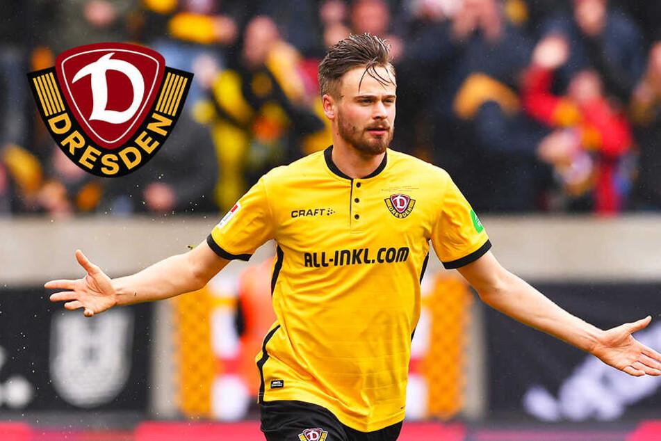 Dynamo-Dresden-Stürmer Röser nur Ersatz, weil er zu brav ist?