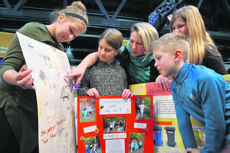 Mit ihren Projekten zum Thema Nachhaltigkeit hat die Grundschule Harthau am meisten überzeugt.