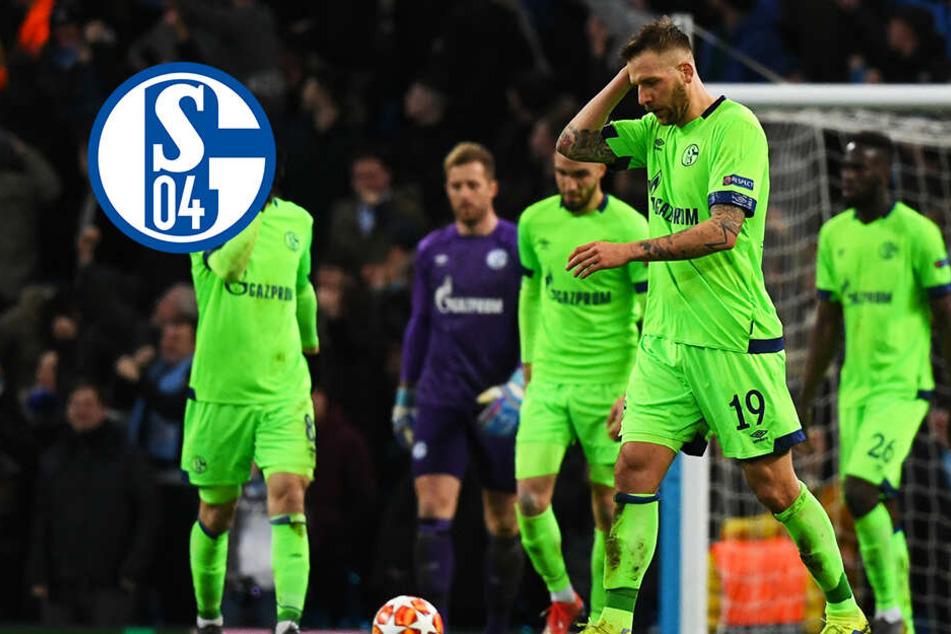 Was für eine Schalke-Blamage! Manchester City zerstört S04 mit 7:0