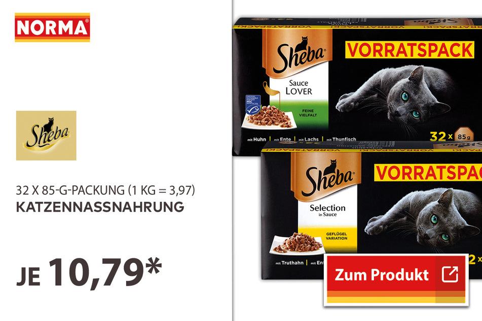 Katzennassnahrung für 10,79 Euro