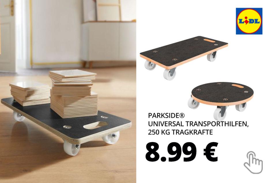 PARKSIDE® Universal Transporthilfen, 250 kg Tragkraft