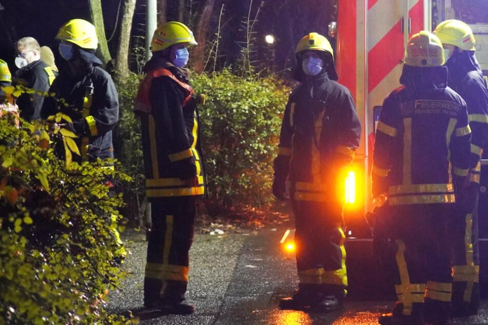 Frankfurt: Alarm in Frankfurt: Feuer in Hochhaus führt zu Großeinsatz