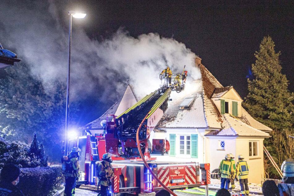 Bitter! Brand in frisch renoviertem Haus: 350.000 Euro Schaden