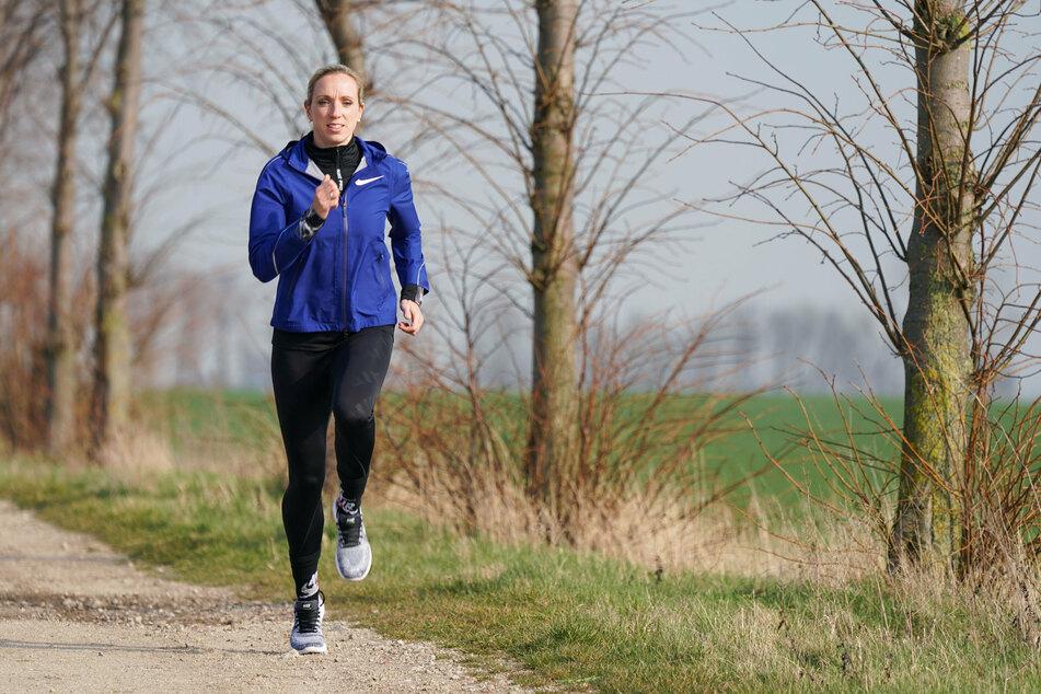 Leistungssportlerin Cindy Roleder (31) war auch während ihrer Schwangerschaft sportlich aktiv. (Archivbild)