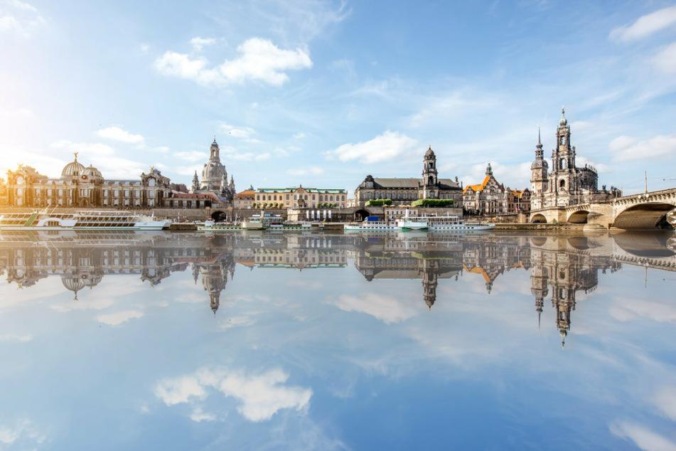 Sachsens malerische Landeshauptstadt Dresden.