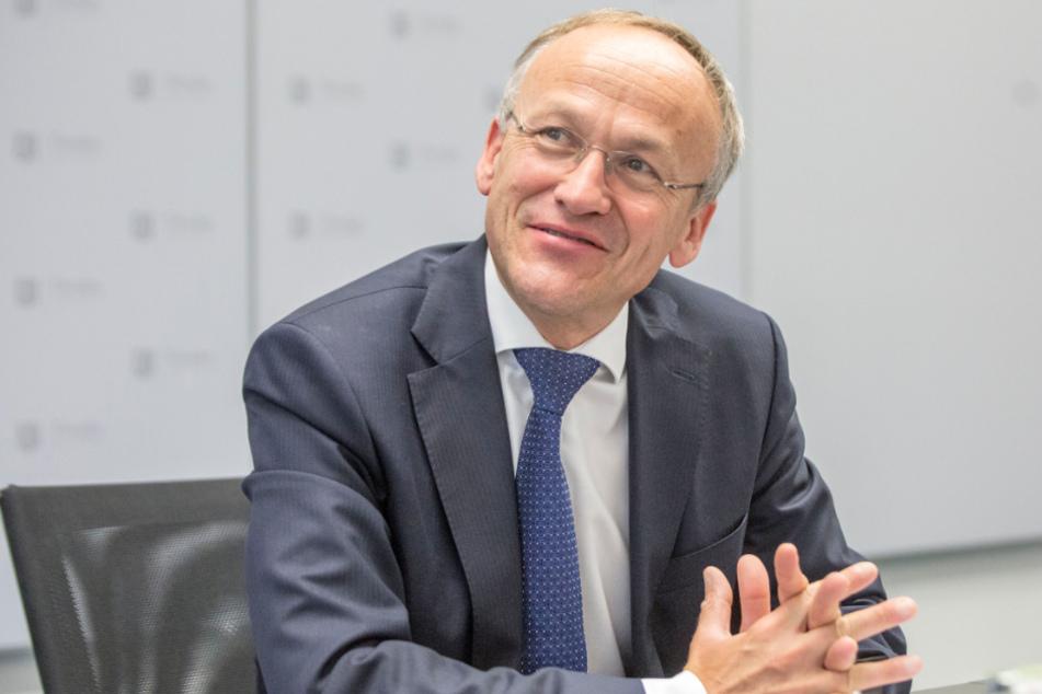 """""""Das könnte ein gutes Geschäft werden"""": Finanzbürgermeister Peter Lames (55, SPD)."""