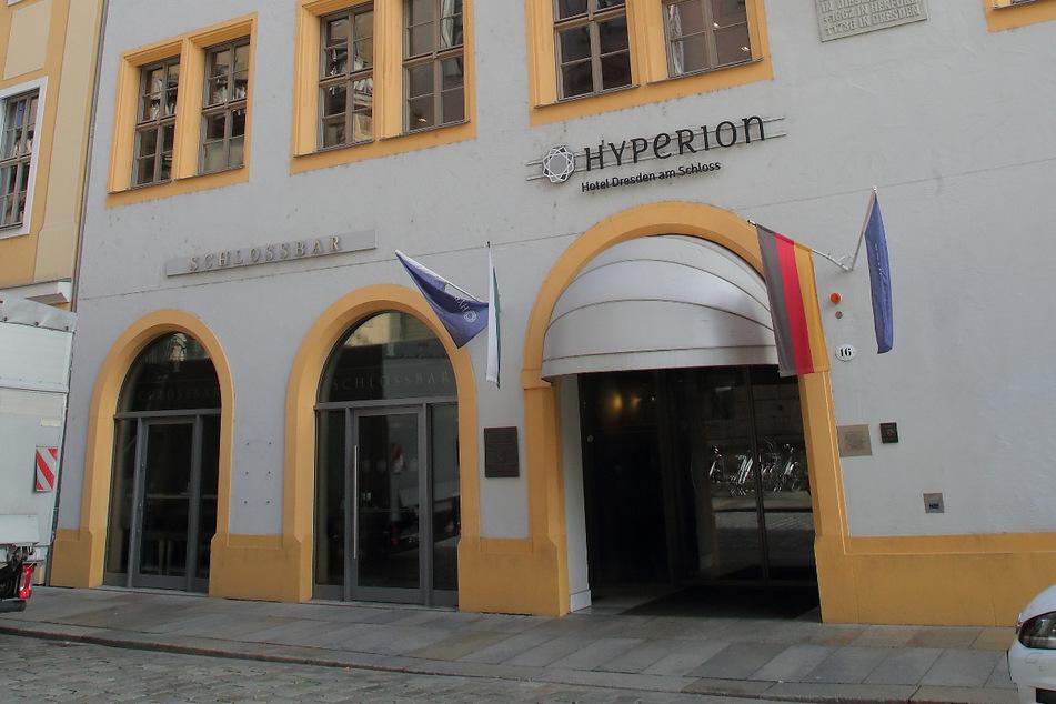 Das Hotel Hyperion am Schloss zählt zu Dresdens nobelsten Adressen.