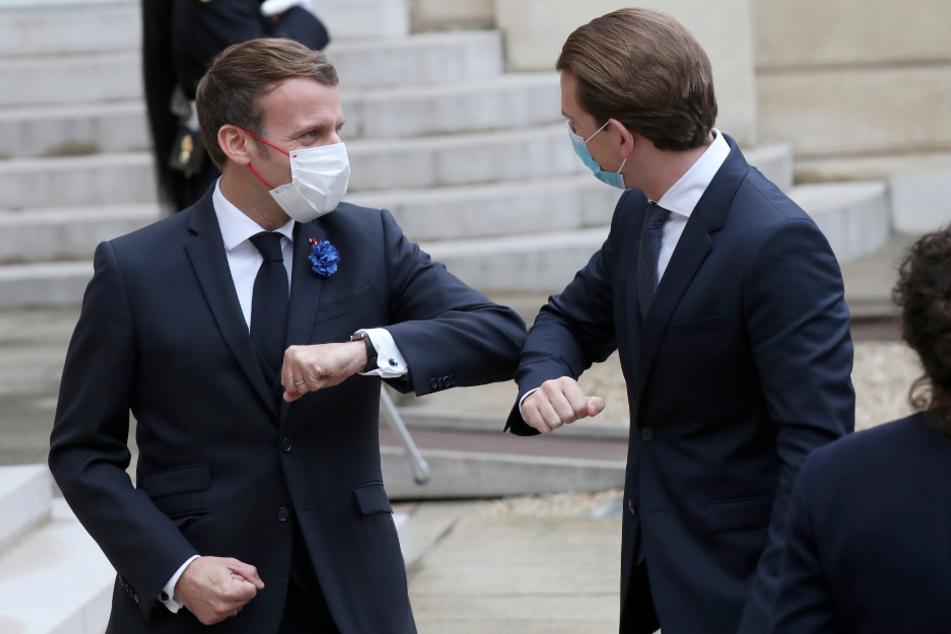 """""""Kampf gegen den islamistischen Terror"""": Macron und Kurz beraten sich in Paris"""