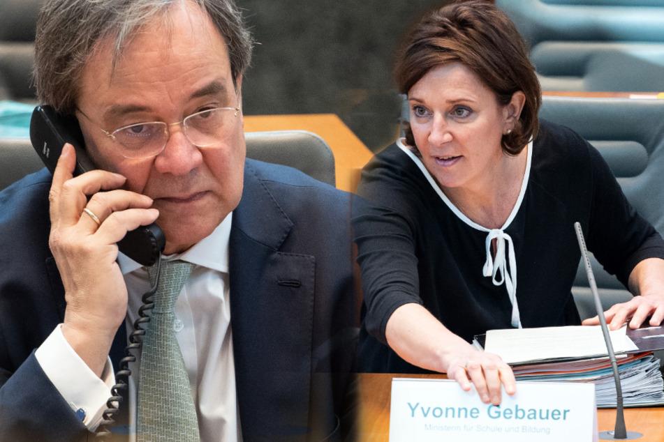 Öffnung der Grundschulen in NRW: Laschet bremst Schulministerium aus