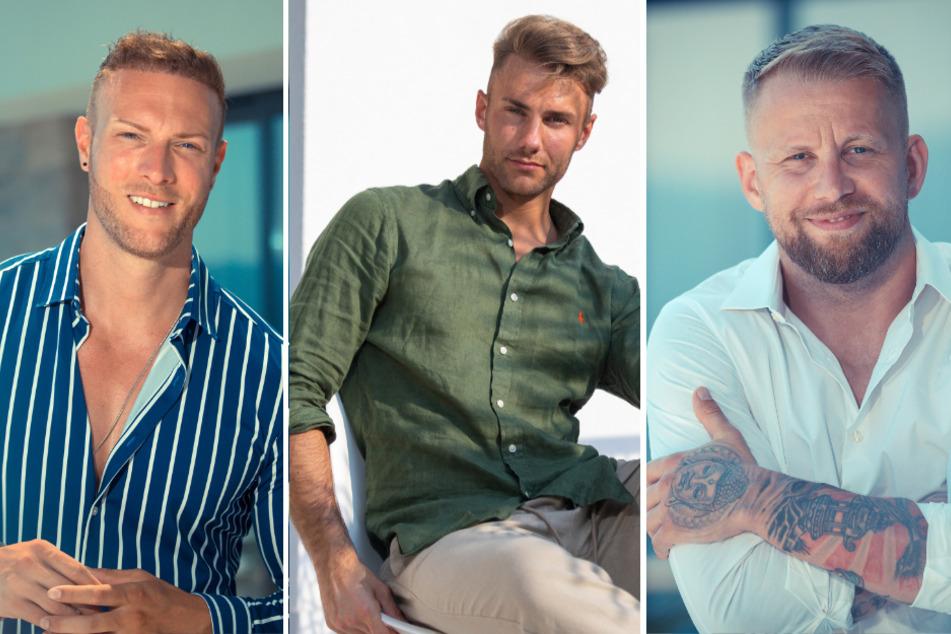 v.l.n.r.: Jay (34), Julien (28) und Mario (35).