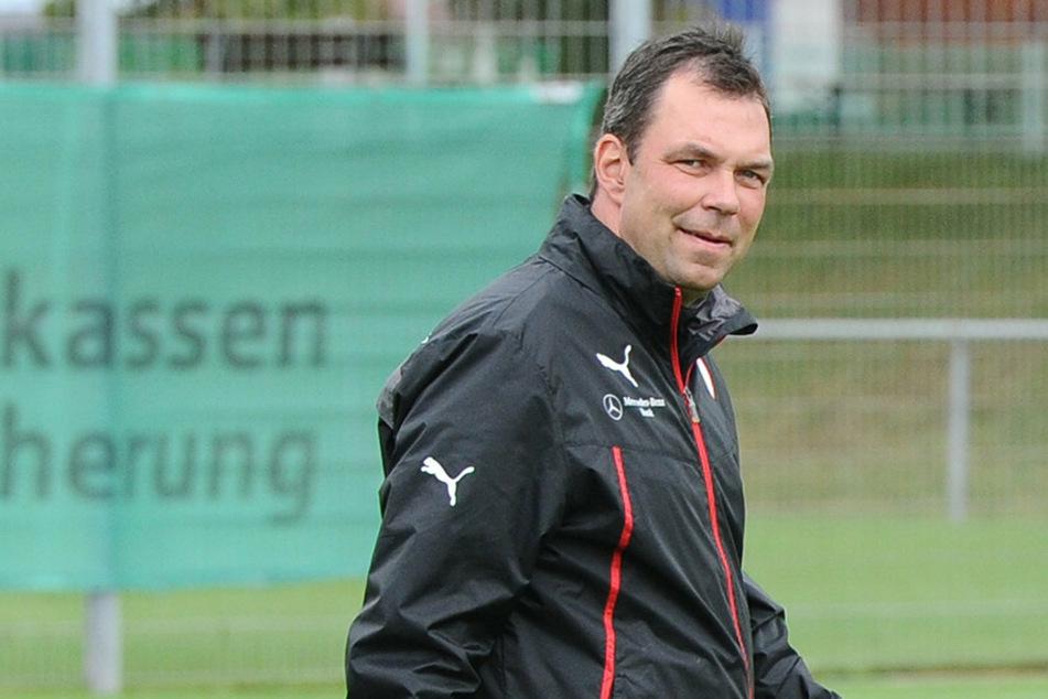 Andreas Menger (48) wird die Koordination der Torwarttrainer und Torhüter in der Fußball-Akademie von Hertha verantworten. (Archivbild)