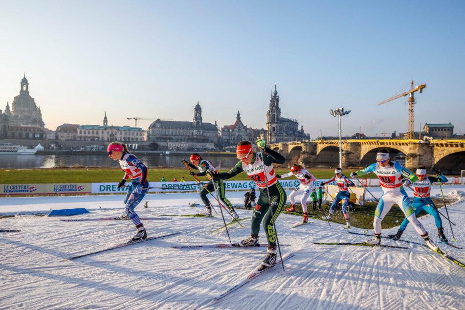 Vom 19. bis 20. Dezember steigt am Dresdner Elbufer der Skiweltcup.