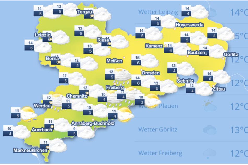 Das Wetter am heutigen Donnerstag sieht noch nicht nach einem schönen Wochenende aus.