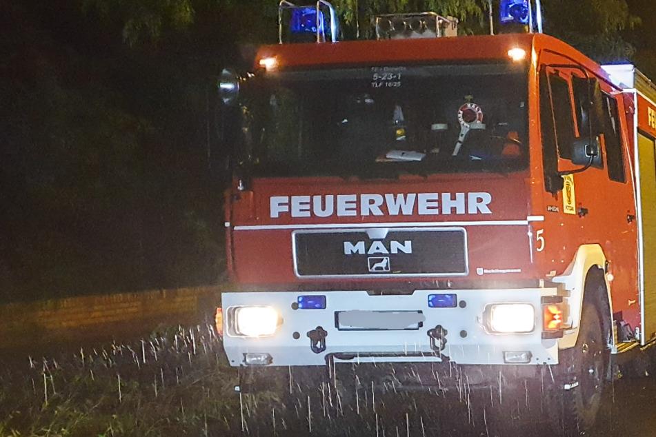 Sieben Menschen bei Feuer in Mannheim verletzt