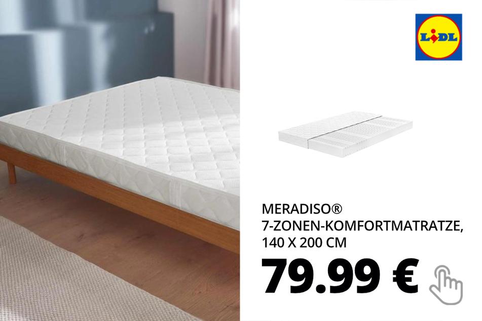 MERADISO® 7-Zonen-Komfortmatratze