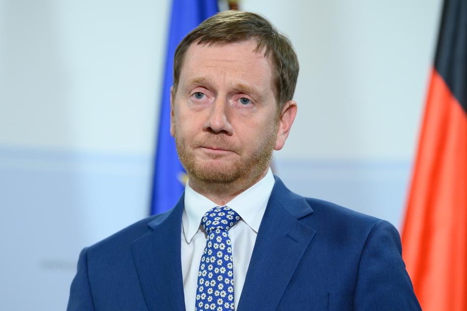 Sachsens Ministerpräsident Michael Kretschmer (45, CDU) steht unter Druck. Die Industrie- und Handelskammern (IHKs) fordern eine schnelle Öffnung des Einzelhandels.