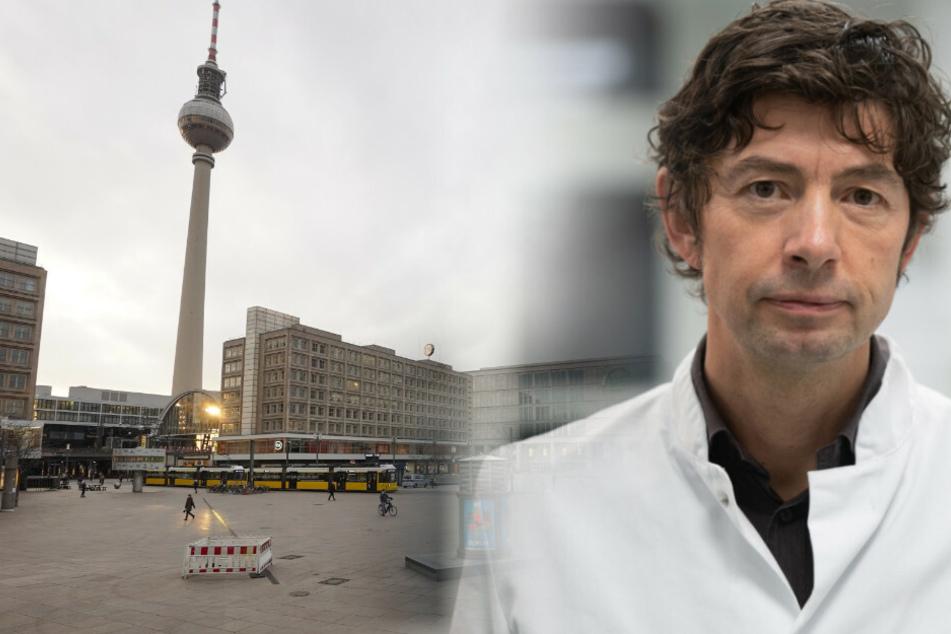 Der Berliner Virologe wies in der Debatte um eine Ausgangssperre auf ein Mangel an Daten hin.