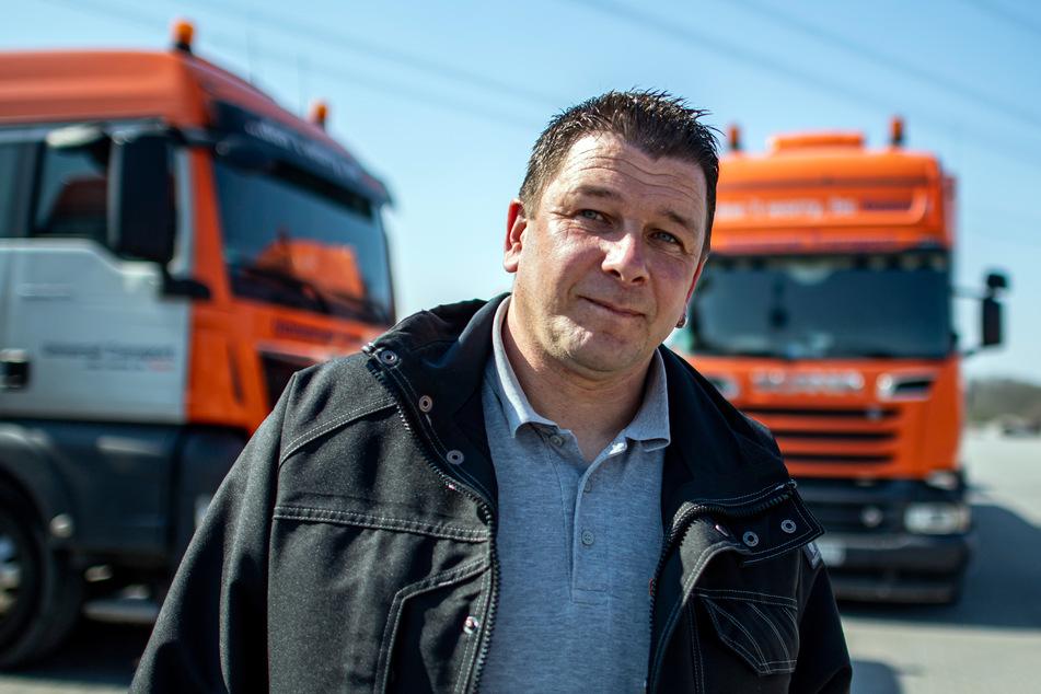 Lkw-Fahrer sind sauer wegen Bedingungen in der Corona-Krise
