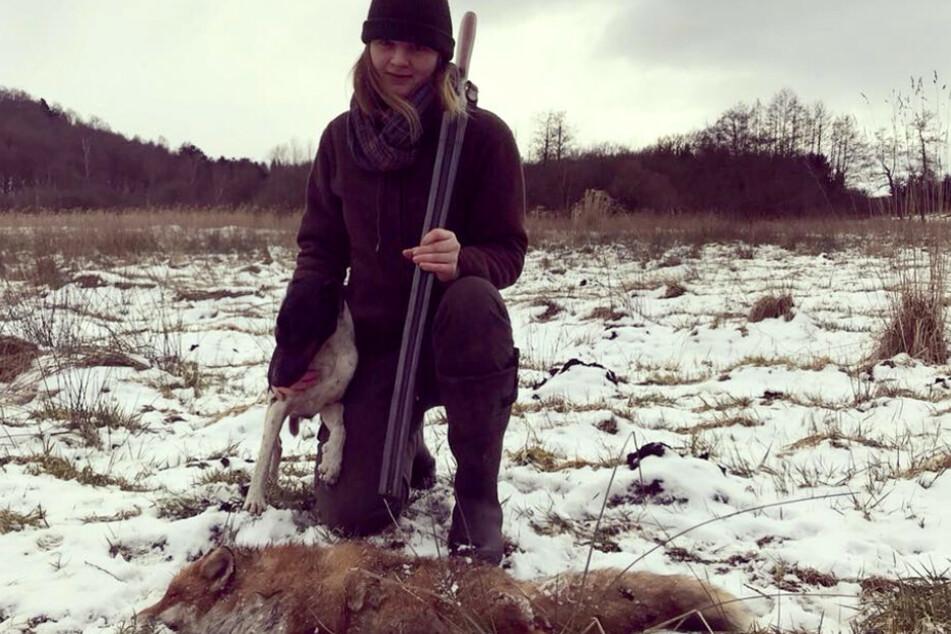 Für diesen Post kassierte eine junge Jägerin einen gewaltigen Shitstorm.