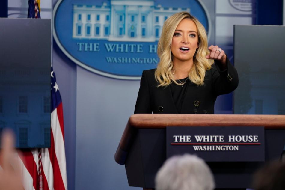 """Neue Trump-Sprecherin gibt kurioses Versprechen: """"Ich werde Sie nie belügen"""""""