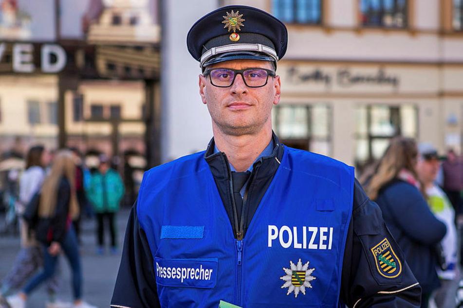 """""""Wir sind vorbereitet"""", sagt Leipzigs Polizei-Sprecher Olaf Hoppe."""