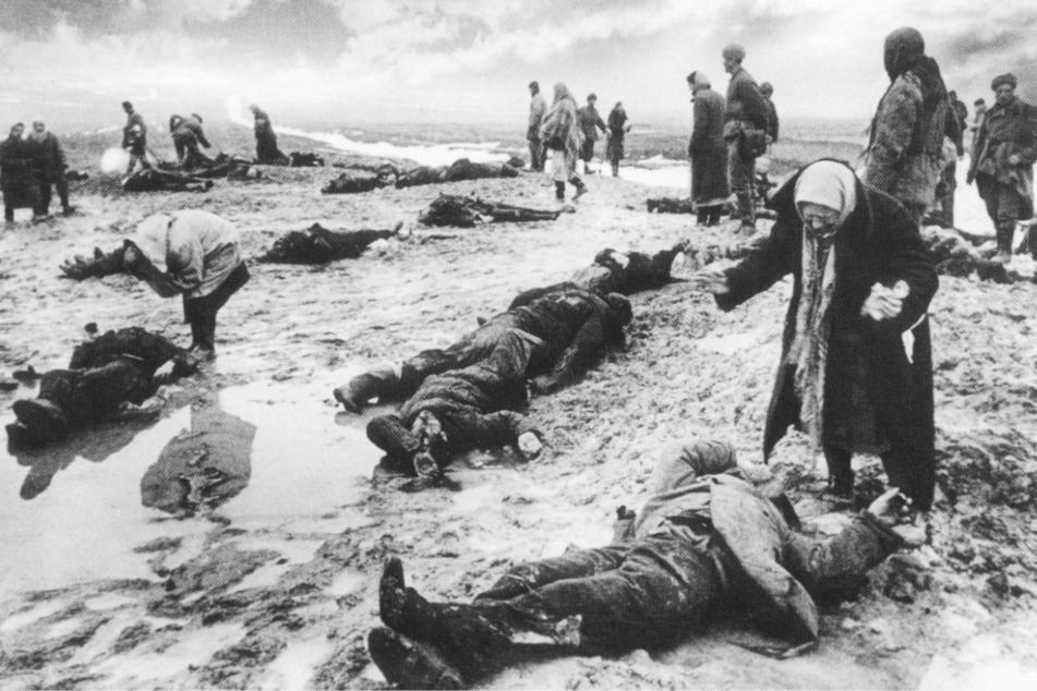 Opfer: Auf sowjetischer Seite waren insgesamt rund 27 Millionen Tote zu beklagen.