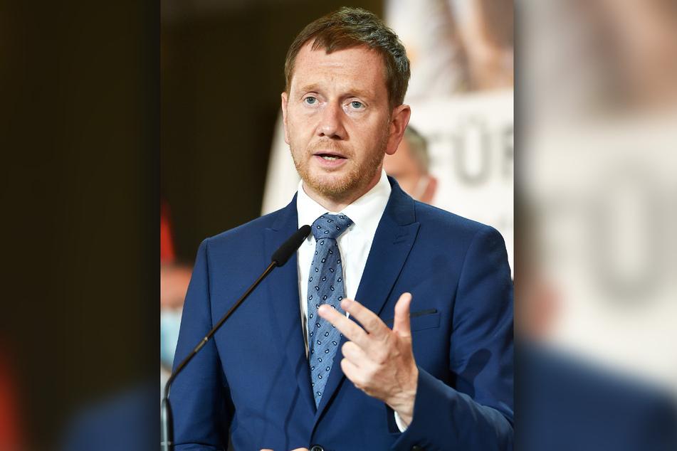 Ministerpräsident Michael Kretschmer (46, CDU) appelliert an die Sachsen, sich impfen zu lassen.