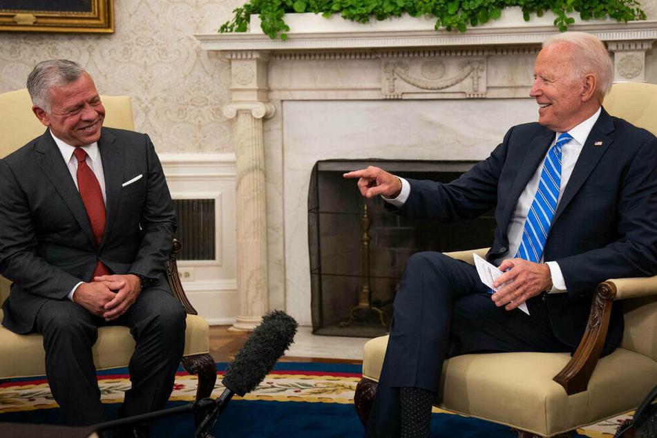 Biden emphasizes relationship with Jordan during King Abdullah visit