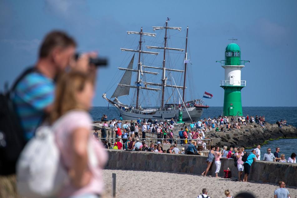 Die Hanse Sail wurde in diesem Jahr abgesagt. (Archivbild)