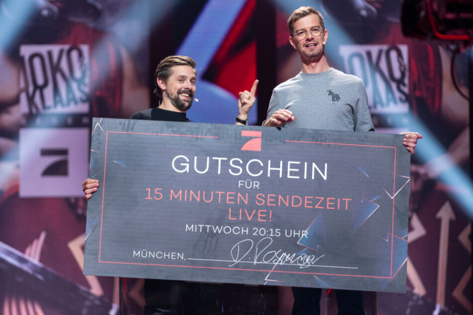 Joko & Klaas gegen ProSieben: Bruchpiloten gewinnen 15 Minuten Sendezeit