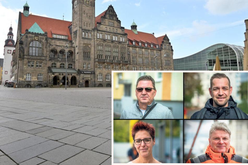 Am Sonntag wählt Chemnitz das nächste Stadtoberhaupt: Das sagen die Chemnitzer