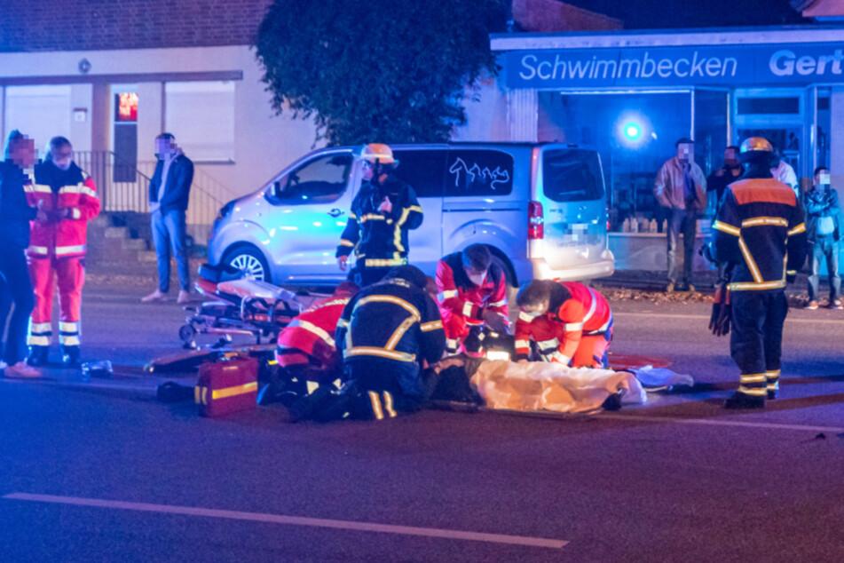 Alkoholfahrt? Biker verletzt sich auf leerer Straße schwer