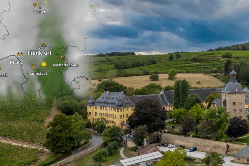 Wetter in Hessen: Mit einem Mix aus Sonne, Wolken und Regen geht es in Richtung Wochenende