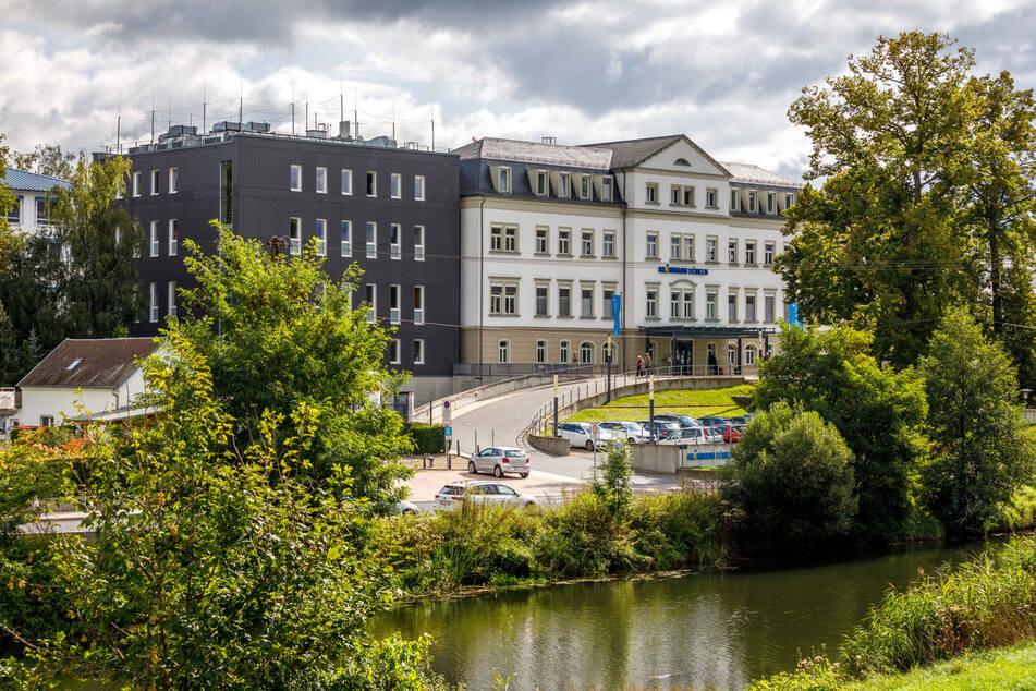 Das Döbelner Krankenhaus. Die 23.000-Einwohner-Stadt punktet beim Ranking mit enormem Zuwachs beim verfügbaren Einkommen, wenig Insolvenzen und vielen Zuzügen.