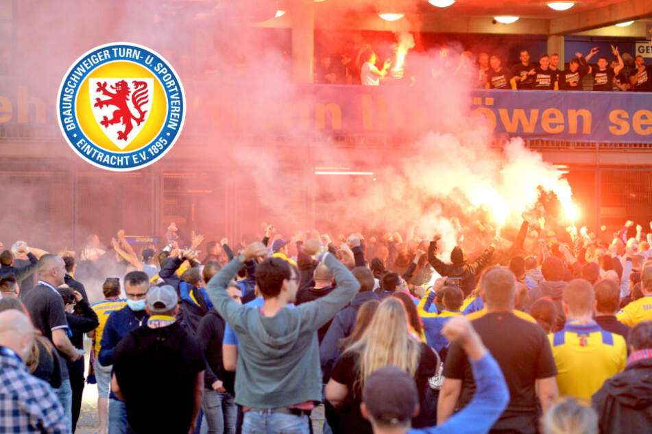 Fans von Eintracht Braunschweig feiern Aufstieg und verstoßen gegen Corona-Regeln