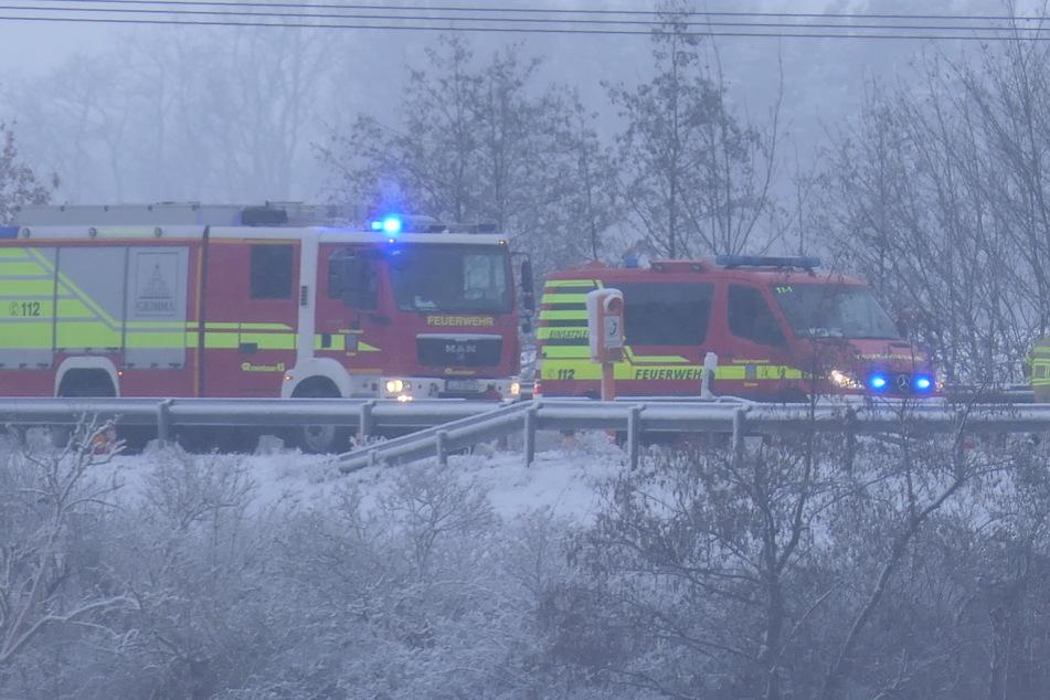Glücklicherweise wurde bei dem Crash niemand ernsthaft verletzt.