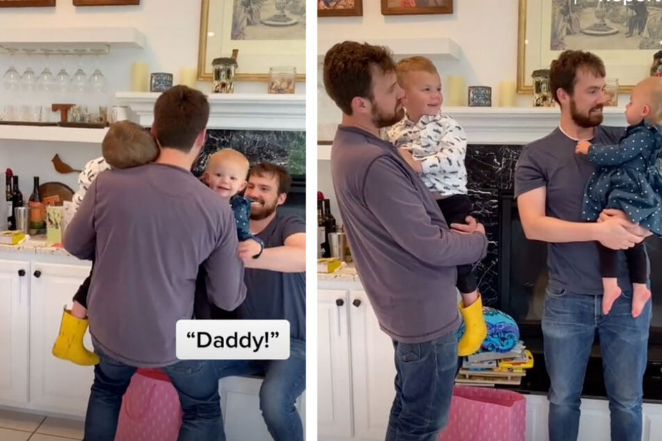 Identical twin brothers pull a reverse Parent Trap on their babies in hilarious TikTok video