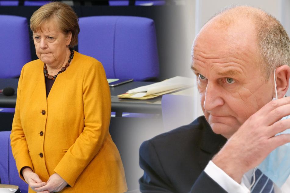 Brandenburgs Ministerpräsident Dietmar Woidke (59, SPD) zeigte sich von der Entscheidung Angela Merkels die Ruhezeit zu Ostern wieder zu kippen beeindruckt.