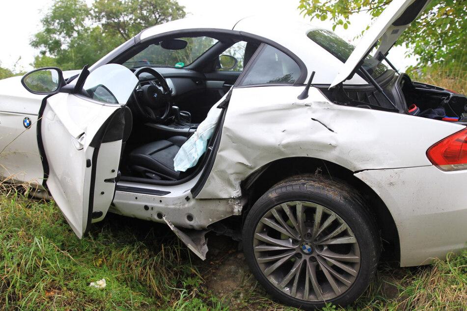 Unfall auf der B4: Mehrere Personen zum Teil schwer verletzt