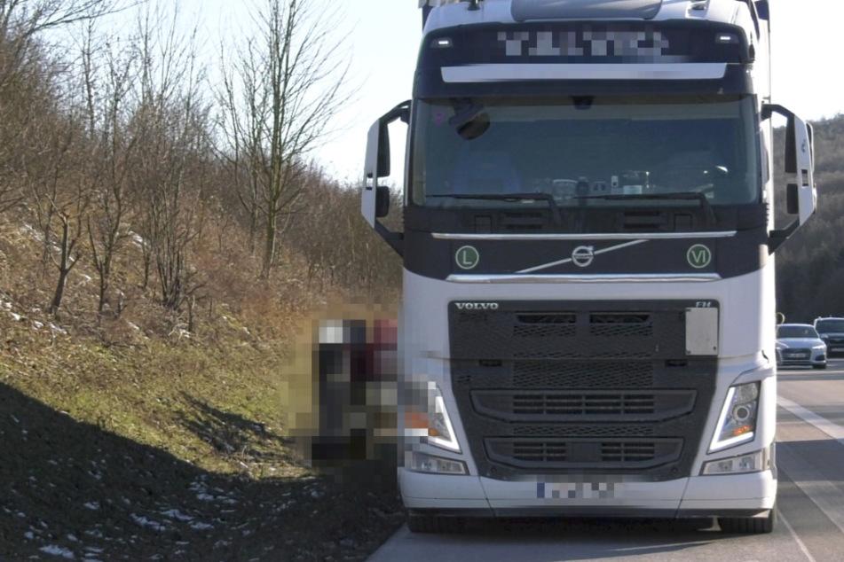 Polizei stoppt Lkw auf der A3: Fahrer und Beamte erleben große Überraschung