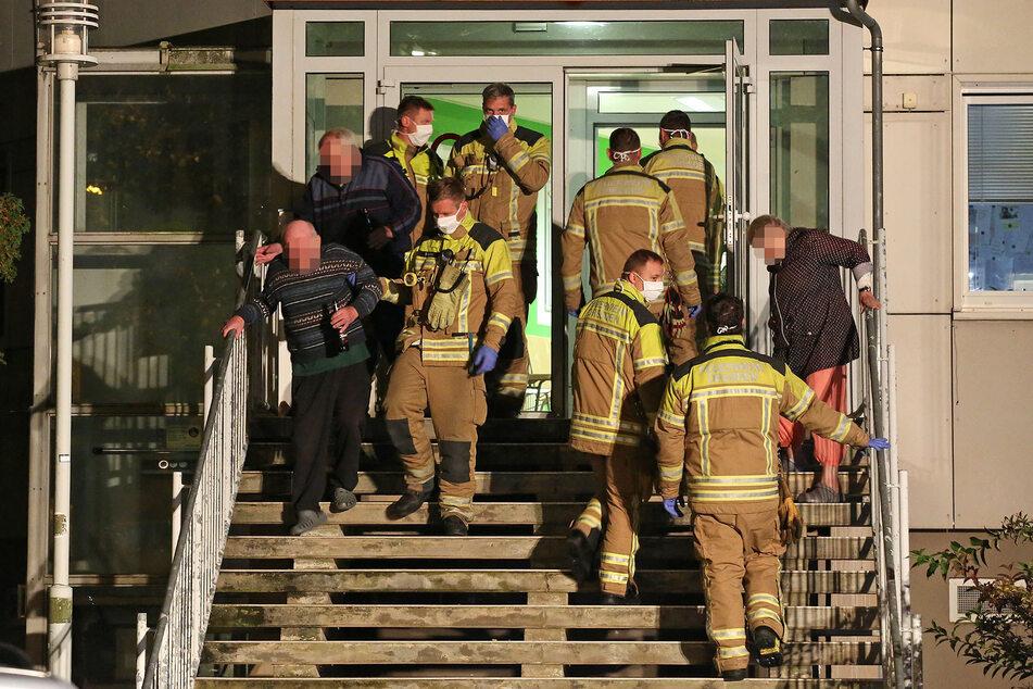 Dresden: Pflegeheim wegen brennendem Keller evakuiert