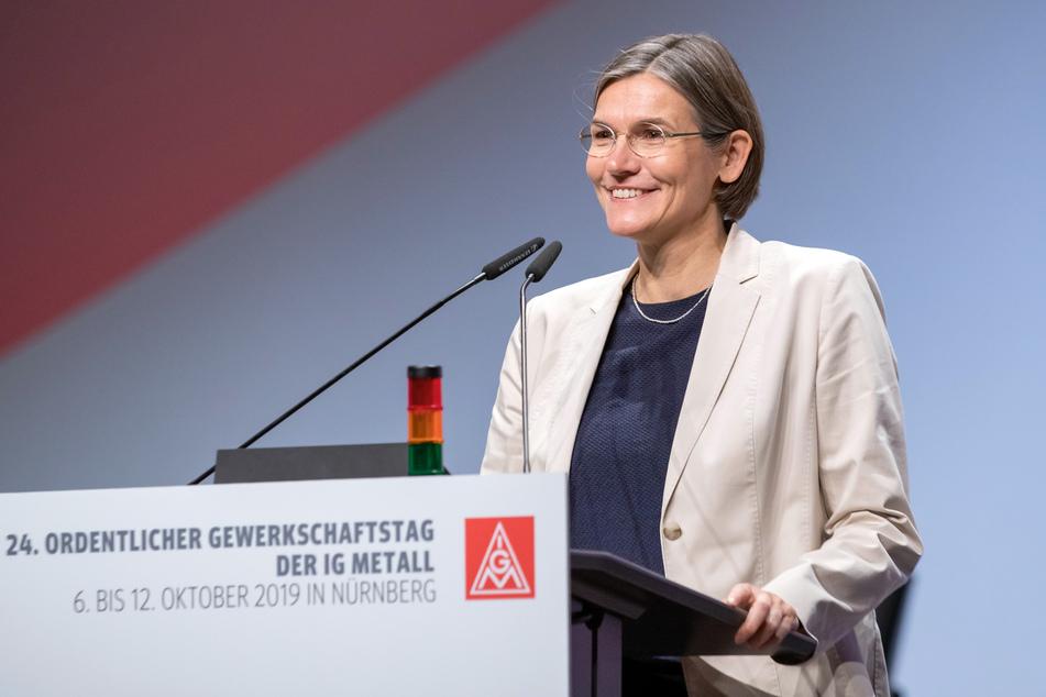 Christiane Benner, Zweite Vorsitzende der IG Metall. (Archivbild)