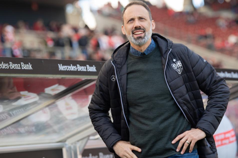Der Cheftrainer des VfB Stuttgart, Pellegrino Matarazzo (42).