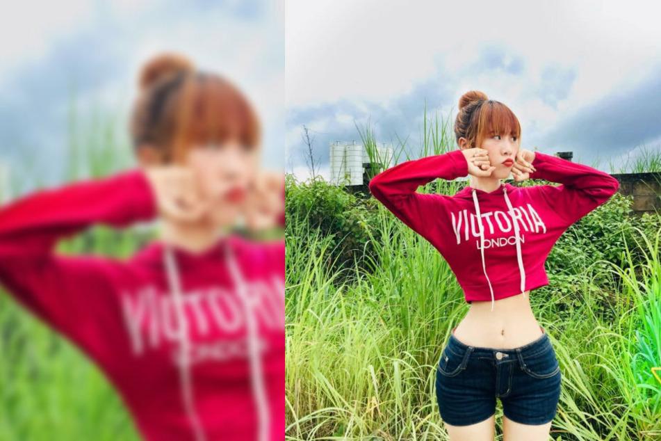 Alles echt, behauptet Su Moh Moh Naing (23). Auf Instagram stellt sich die junge Frau gerne zur Schau.