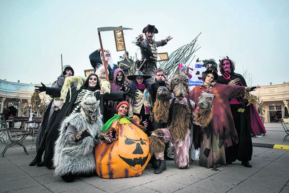 Leipzig: Hier wird es gruselig: Halloween im Abenteuerreich BELANTIS