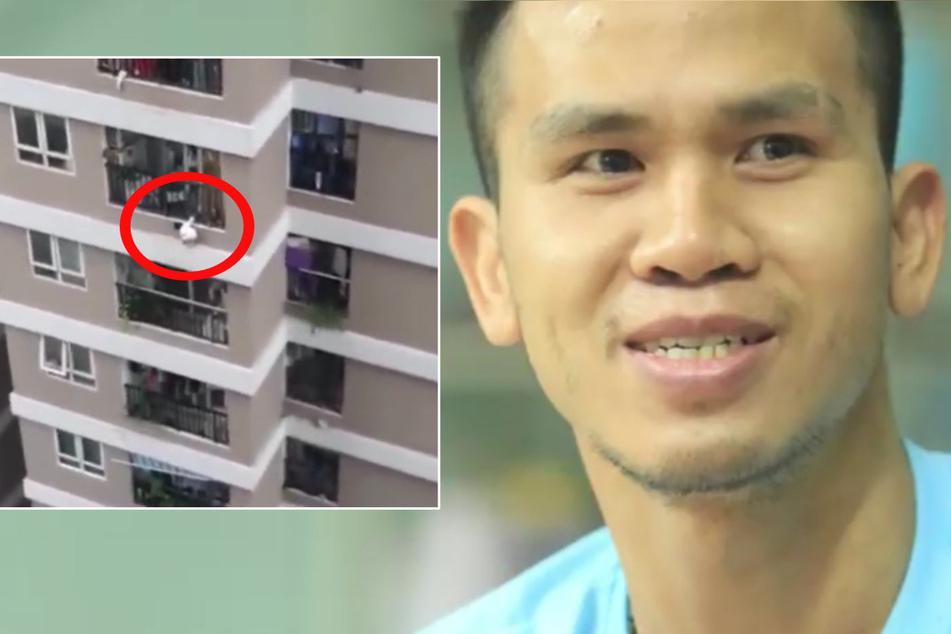 Ein Held! Lkw-Fahrer rettet Kind bei Sturz aus zwölfter Etage