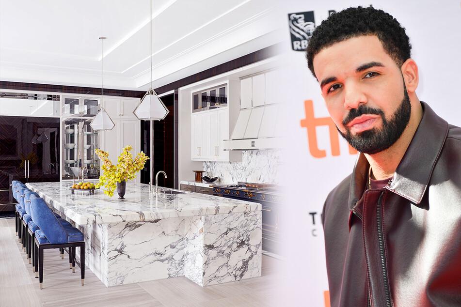 Drake zeigt erstmals sein Haus: So protzig lebt es sich als Rap-Star!